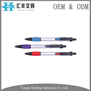 china factory parker refill plastic ball point pen custom logo