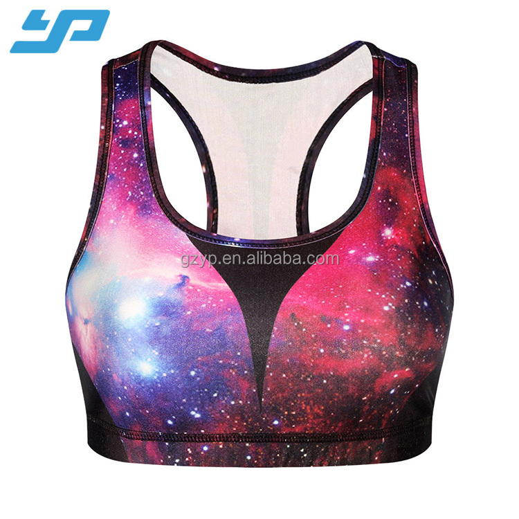 women custom printed fitness sports yoga clothes for gym