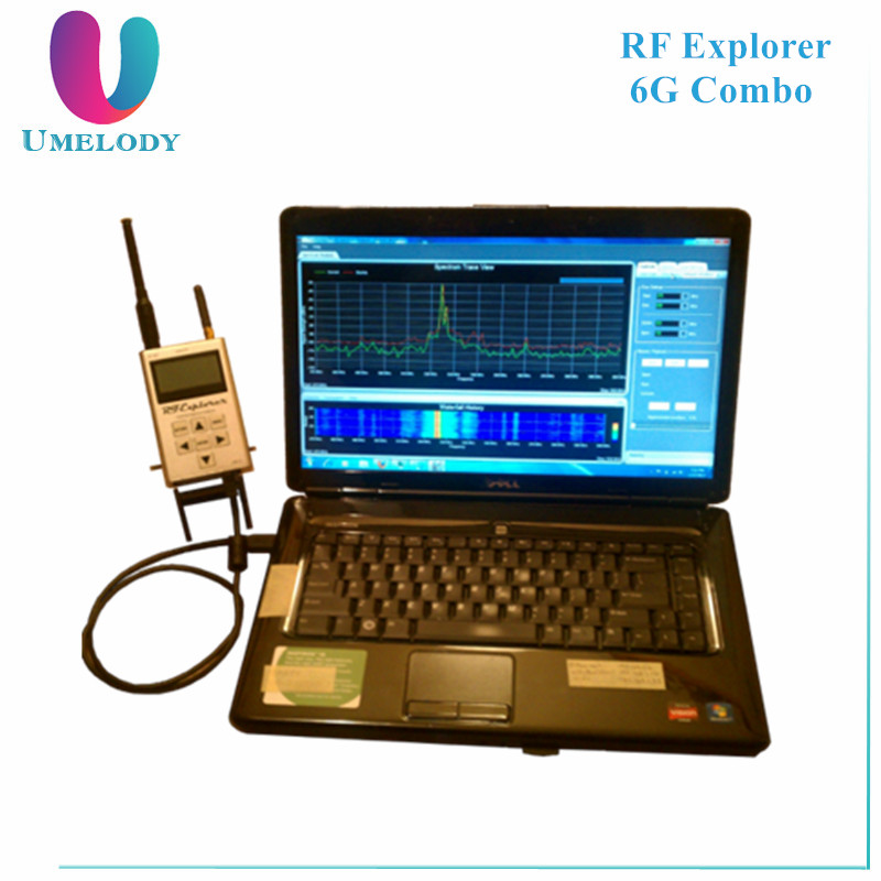 Umelody RF Explorer 6G Combo handheld spectrum analyzer