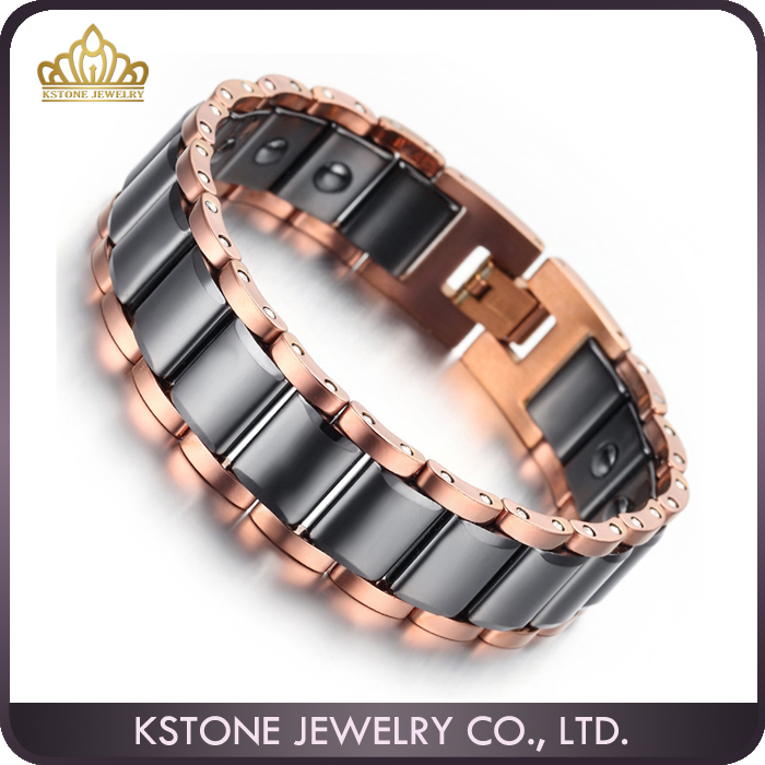KSTONE Best Men Gift Wholesale black tungsten bracelet,high quality custom tungsten jewelery