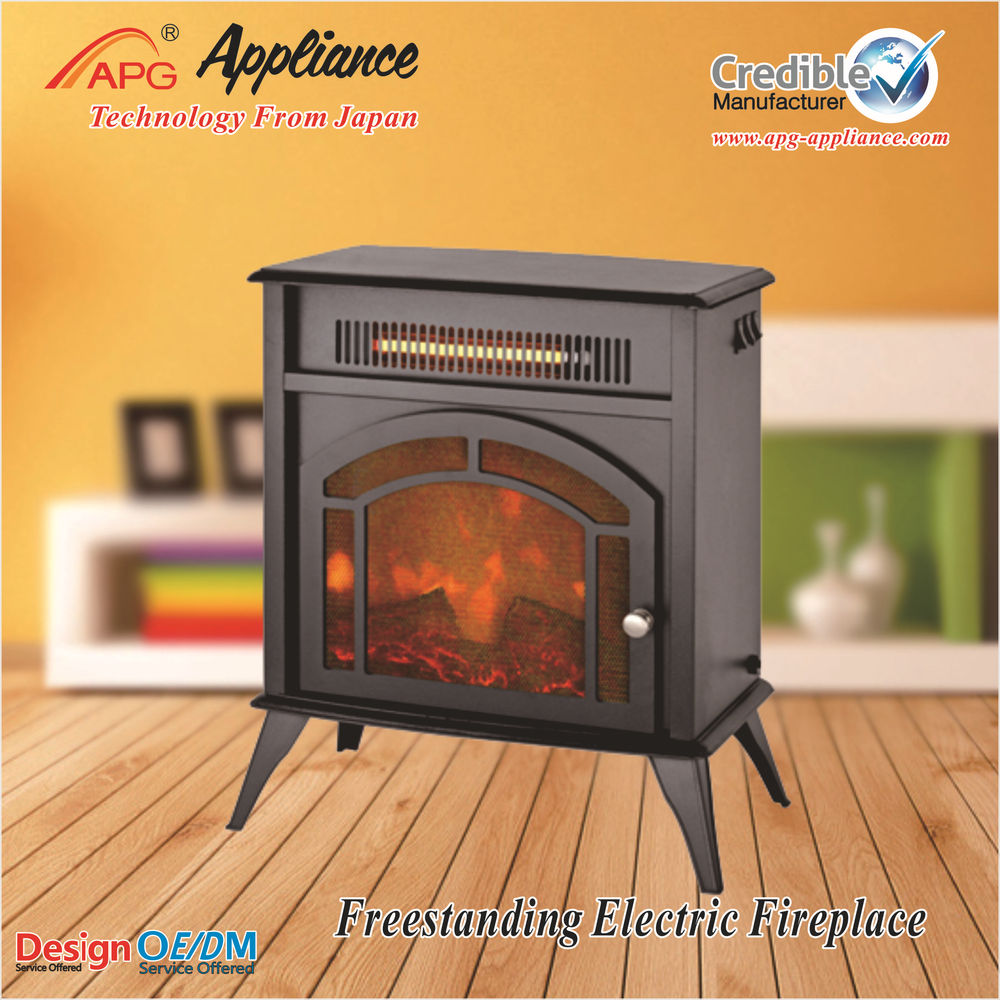 Freestanding cheap electric fireplace