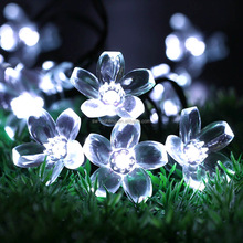 2017 <span class=keywords><strong>weihnachten</strong></span> Blume Solar String LED-Licht für outdoor-dekoration