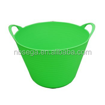 household pail,garden bucket,flexi tub,carry barrel garden tubtrugs