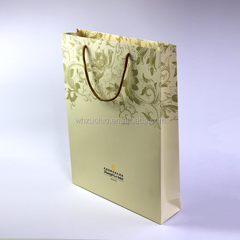 Zuoluo factory made directly quality bag paper with your logos