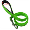 Amazon best selling PVC pet dog walking leash with soft padded handle