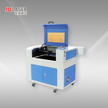 High precision CO2 JQ 6040 laser engraving and cutting machine CE&FDA on acrylic glass wood paper leather marble