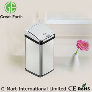 38Liter Touchless stainless steel Intelligent garbage box
