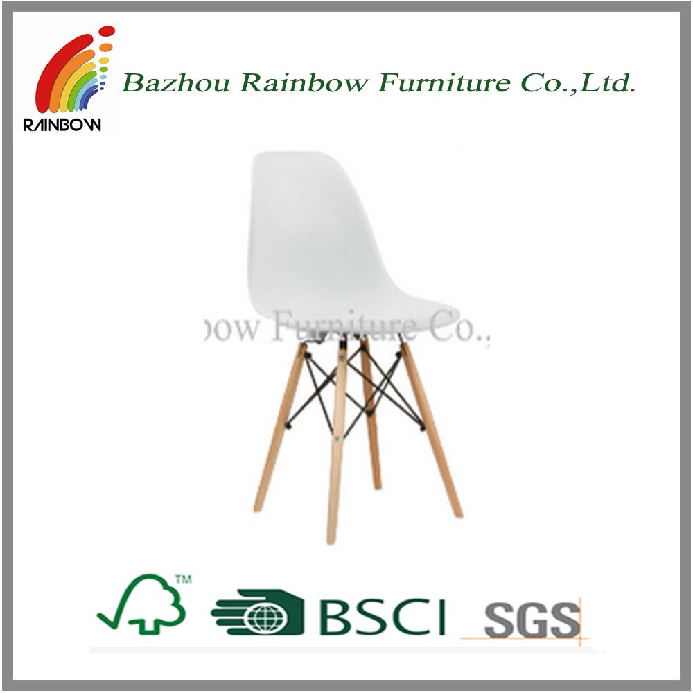 cheap modern solid wood legs plastic plastic round chairs