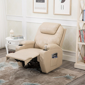 Modern 8 point massage sofa reclining chair with footrest BRC-311