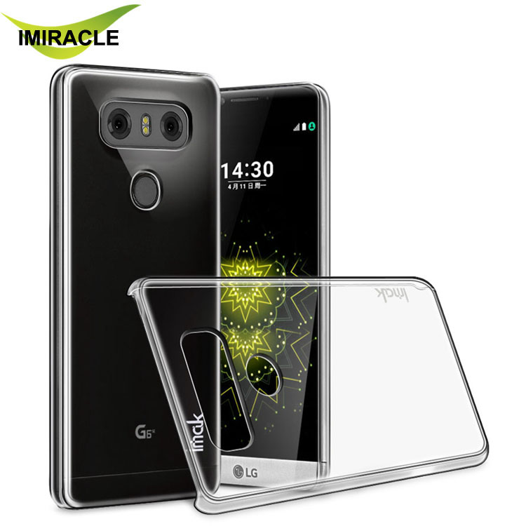 Imak Cover Hard PC Transparent Clear Plastic Case Cover For LG G6 Phone Shell