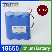 1800mah Li-ion Battery Pack 18650 11.1v RC Toy