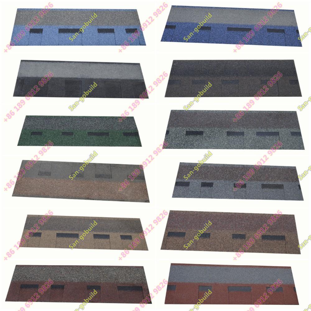 Asphalt Roof Shingle Fiber Glass Felt Roofing Material