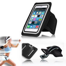 Purple Gym Sports Running Armband Case for iPhone 4S