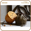 Creativity Colorful Receptaculumloti Shape Sheep Leather Mini Clutch Bag Handbag Drawnstring Bags