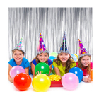 Excellent business foil curtain party supplies decorations,new years eve party supplies
