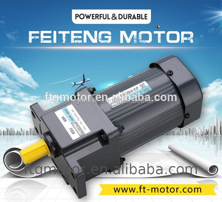 120w high torque 110v 220v ac induction <strong>motor</strong> with gearbox gearmotor gear <strong>motor</strong>