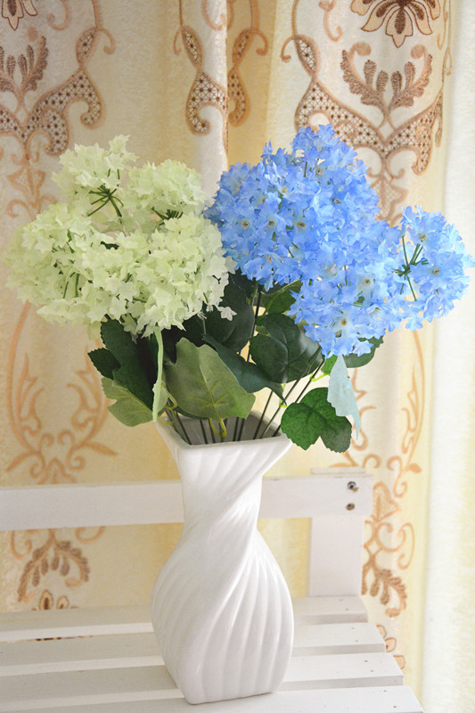High Quality Hybrid European 1pcs  Artificial Flowers Spring White Peony Fake Wedding Home Party Decoration flower