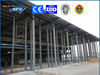large span steel grid frame structure coal storage shed warehouse building