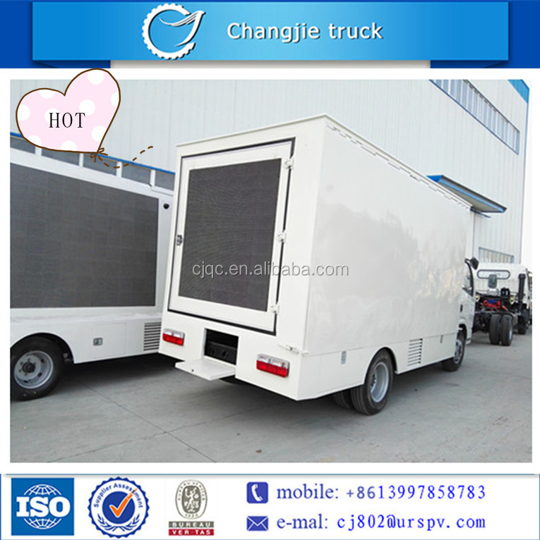Led ad truck EQ 5-8 cbm for sale outside abroad