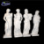 Ancient Greek Stone Carved Luxury Elegant white marble Four Seasons Goddess statue
