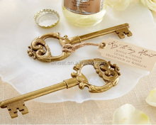 "Gold ""Key to My Heart"" Antique Bottle Opener"