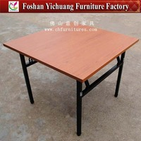 High Quality Square folding laminate dining tables YC-T07-06