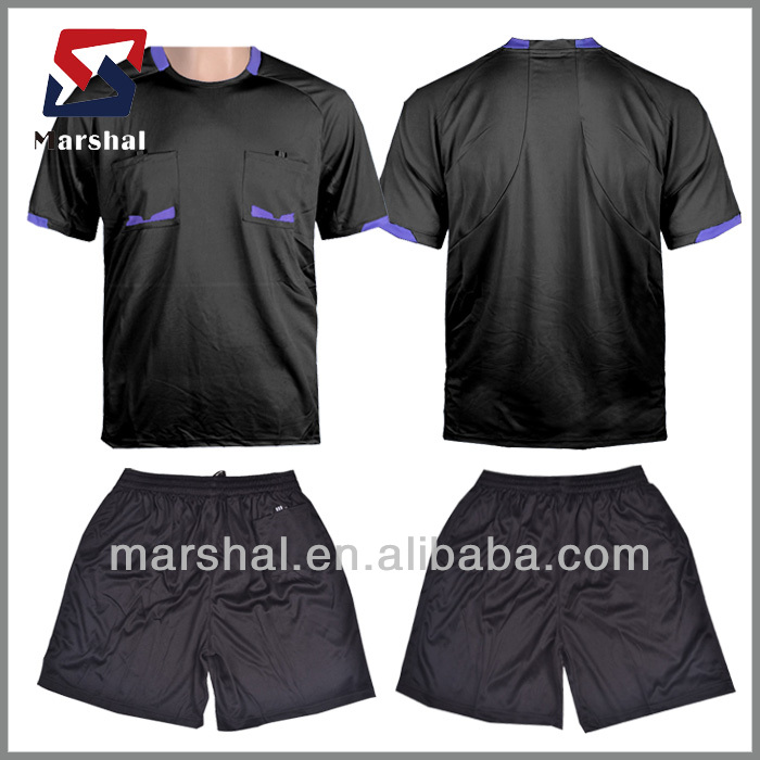 sublimation professional custom soccer referee jersey