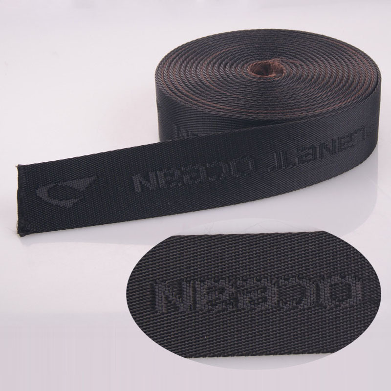 Factory Direct High Quality Cheap Price Durable Nylon Custom Logo Jacquard Safety Webbing Strap