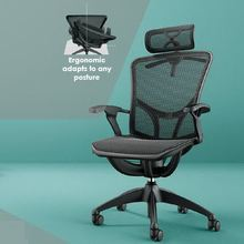 Latest High Grade Office Chair Ergonomic Executive Luxury Black Gas Spring Mesh Office Chair
