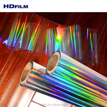 Beste Kwaliteit Hologram Rainbow Film Iriserende Hologram <span class=keywords><strong>Plastic</strong></span> Film Uit China