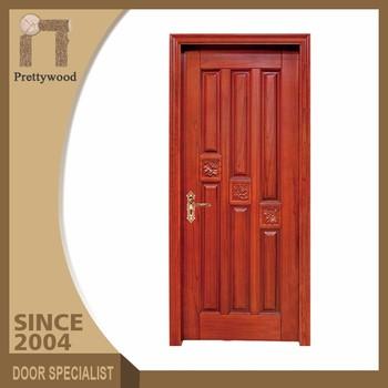 Luxury American Style Interior Solid Teak Wood Door Design