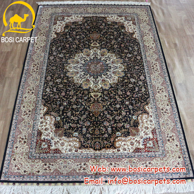 5x8ft Area rugs made in turkey hot sale silk handmade rug