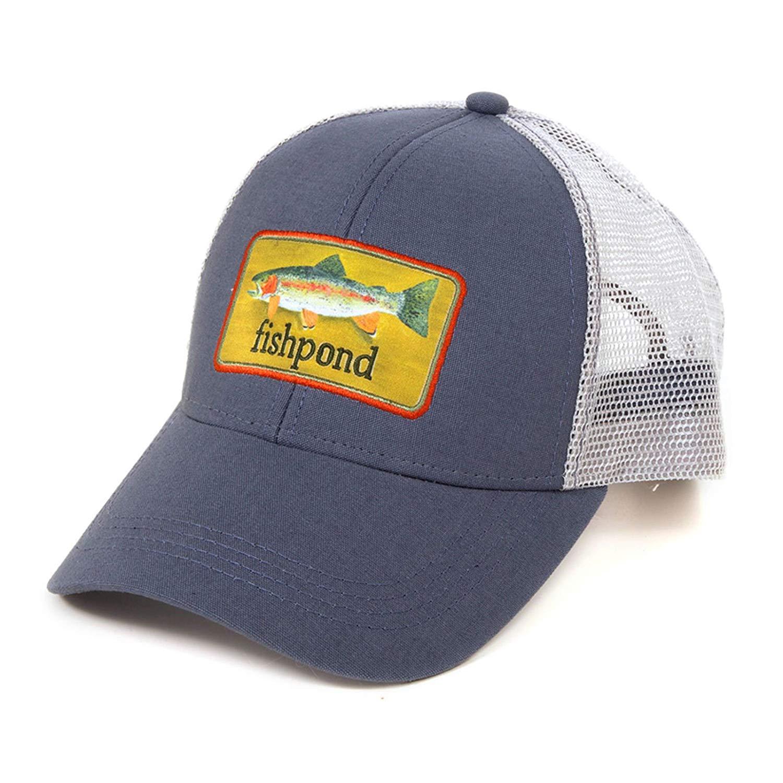Fishpond Brookie Hat Dusk Trucker Hat Fly Fishing Baseball Cap Mesh Cooling