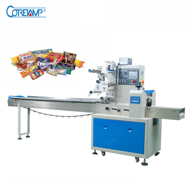 Coretamp Automatic Flow Pack Packing Machine