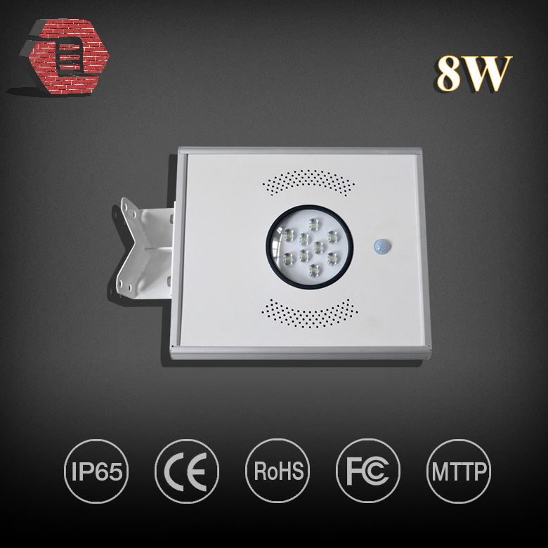 Best quality integrated motion sensor all in one solar street light price 10w LYBRAIO18WA386