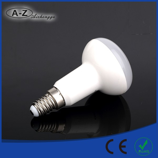 Factory direct supplier R series 2700-6500K ce rohs led light bulb