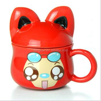 Cartoon Characters Fox Ceramic Mug
