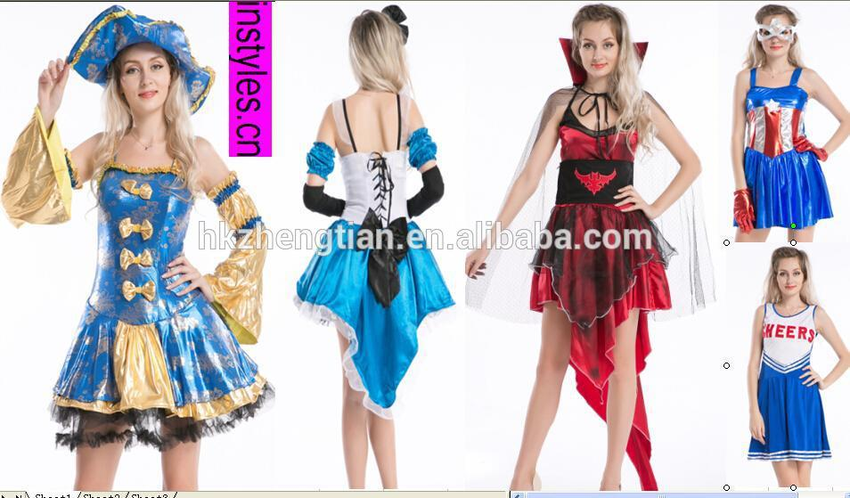 Ladies Pirates of the Caribbean Jack Sparrow Womens Cosplay Dress Fancy Costume online shopping for clothing