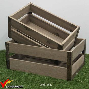 Metal Corners Slat Fruit Vegetable Wooden Vintage Boxes And Crates Buy Vintage Boxes And Crateswooden Crates Vintagefruit And Veg Crates Product