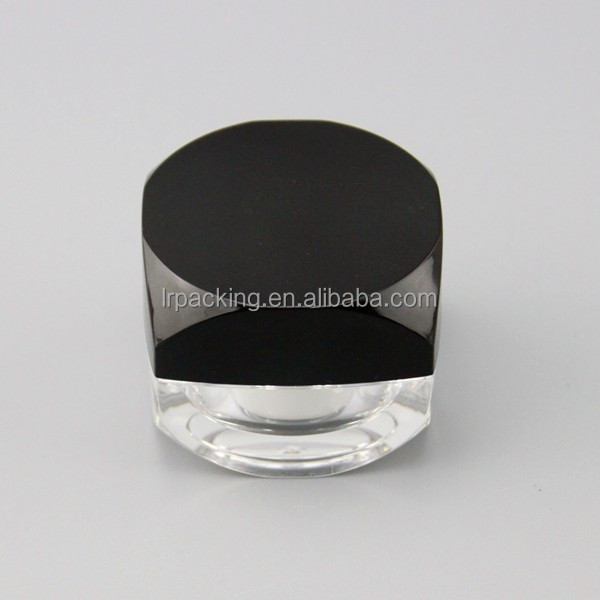 5g 10g metallic color nail polish bottle