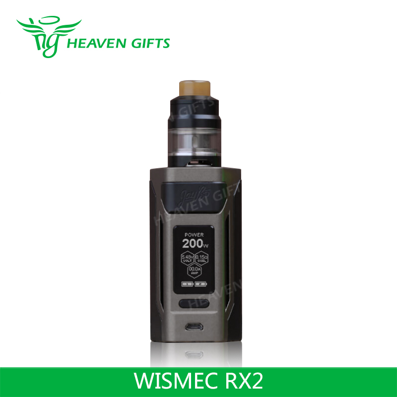 Good Performance 2ml/ 4ml Gnome Tank Reuleaux RX 2 200W WISMEC RX2 Kit electric e cigs