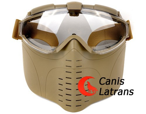 2014 High quality Military Outdoor Tactical Full Face Air soft Protective Mask CL9-0008