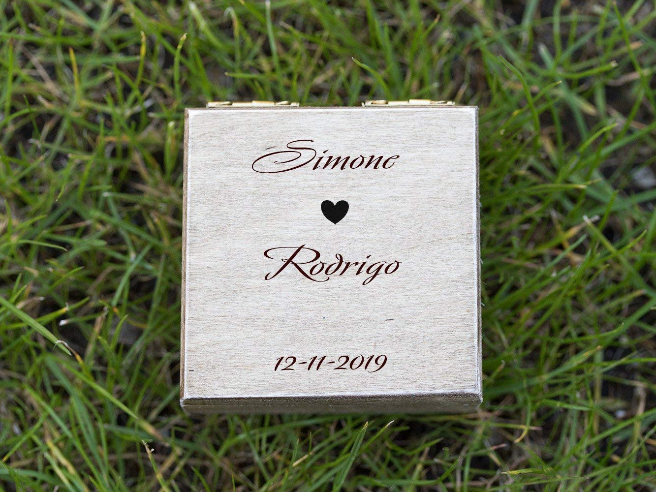 Custom ring bearer box, Personalized wedding box, Engraved ring box, Wedding ring box, Ring Bearer Pillow, Engagement box, Wedding Ring Box, Ring Holder, Proposal box, Wooden box