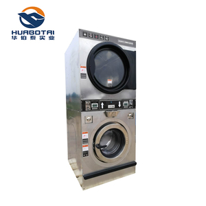 Coin operated stack washing machine for student facilities