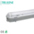 IP65 Waterproof wall mounted LED 2X18W T8 T5 Tri-proof Fluorescent Lighting Fixture With PC ABS COVER