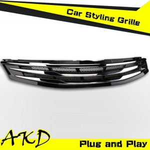AKD Car Styling Front Grille for Toyota Camry V55 Grille 2015 New Camry Top Quality Bumper Grille