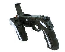 Gun Style Draadloze Bluetooth Gamepad Gaming Joystick iPEGA PG-9057 Game <span class=keywords><strong>Controller</strong></span> voor Android iOS