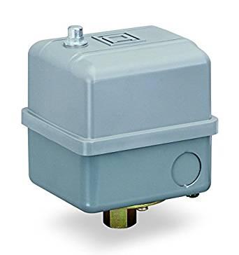 "Square D by Schneider Electric 9013GHG2J57 Pressure Switch, 200/250 psi Sensor, NEMA 1 Enclosure, 1/4"" NPSF, 120-150 psi Points"
