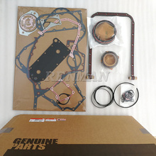 Cummins engine rebuild kit QSL Lower Engine Gasket Kit 4089889