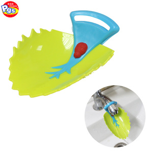 2018 wholesale baby safety kids leaf shape faucet extender for hand washing
